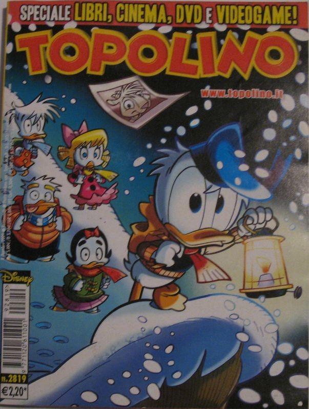 Topolino n°2819 del 8 dicembre 2009