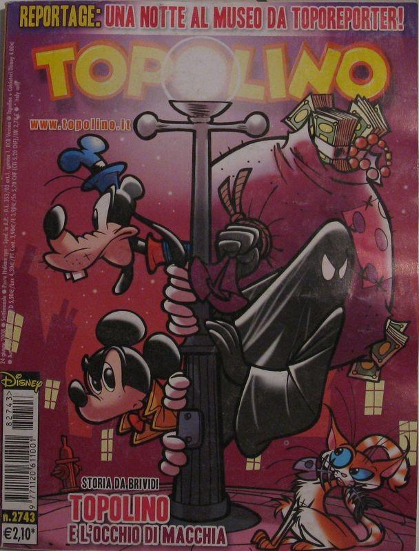 Topolino n°2743 del 24 giugno 2008