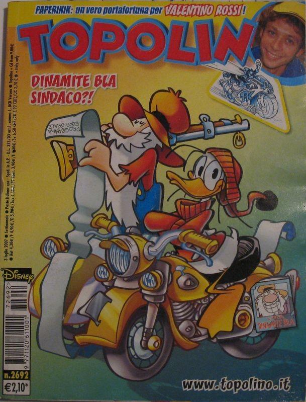 Topolino n°2692 del 3 luglio 2007