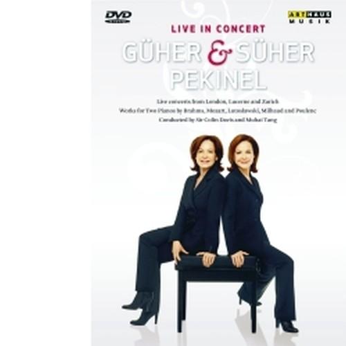Güher & Süher Pekinel (duo pianistico)  PEKINEL GÜHER & SÜHER  pf
