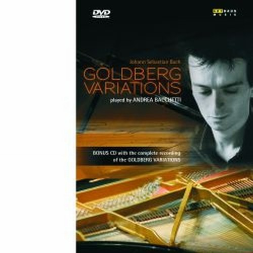 Variazioni Goldberg  BWW 988 (DVD e CD audio)  BACH JOHANN SEBASTIAN