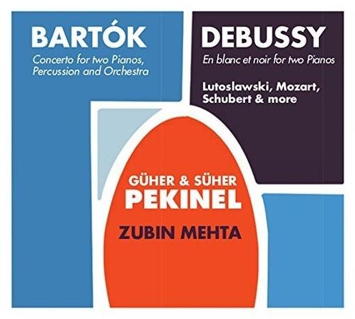 Concerto per pianoforte, percussioni e orchestra  BARTOK BELA