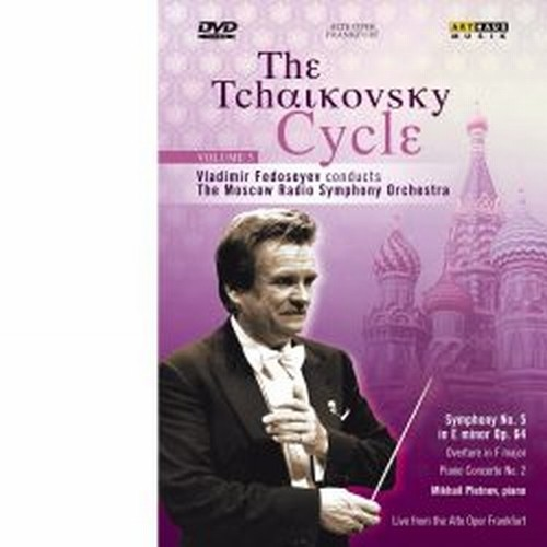 The Tchaikovsky Cycle, Vol.5: Sinfonia n.5 op.64, Overture in Fa maggiore  CIAIKOVSKI PYOTR IL'YCH