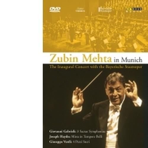 Zubin Mehta in Munich - Tre Sinfonie sacre  GABRIELI GIOVANNI
