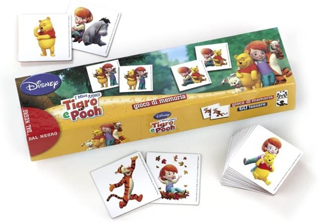 Dal Negro 57062 - I Miei Amici Tigro e Pooh con Tessere, Disney