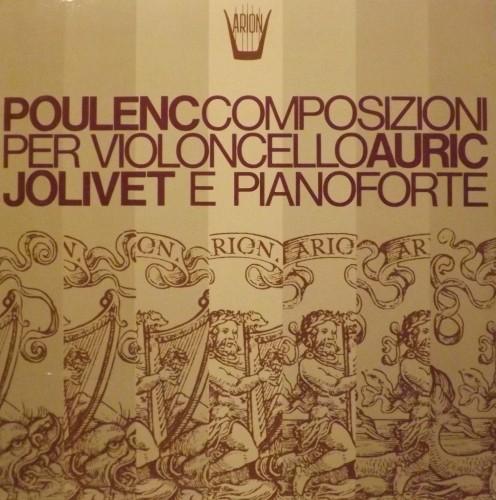 Composizioni per violoncello e pianoforte - Sonata per violoncello e pianoforte  POULENC FRANCIS