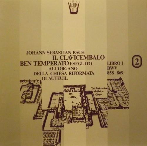 Il Clavicembalo ben temperato, Libro II BWV 858-869  BACH JOHANN SEBASTIAN