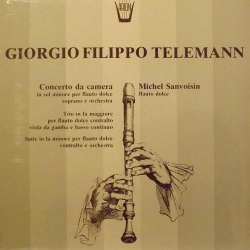 Concerto da camera in Sol minore, Trio in Fa maggiore, Suite in La minore  TELEMANN GEORG PHILIP