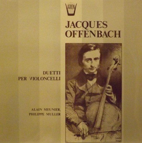 Duetti per violoncello  OFFENBACH JACQUES