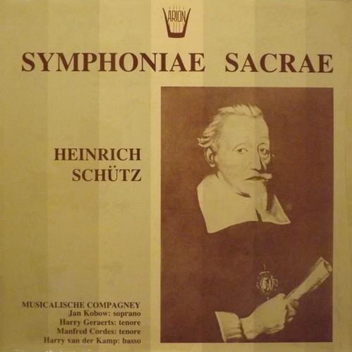 Sinfonie sacre  SCHUTZ HEINRICH