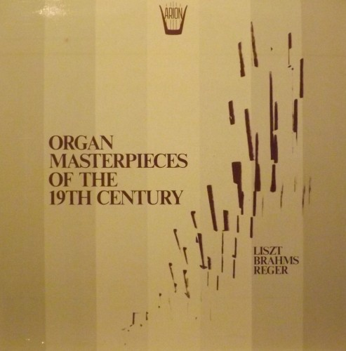 Organ masterpieces of the 19th Century - Preludio e Fuga su B.A.C.H.  LISZT FRANZ