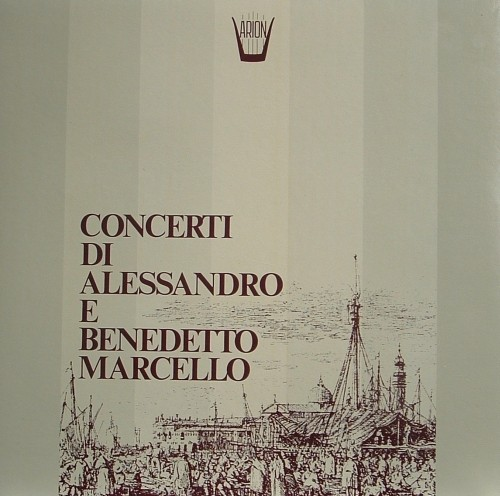 Concerto op.1 n.6, Concerto op.1 n.1  MARCELLO BENEDETTO