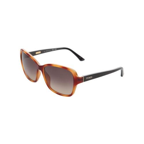 FENDI Occhiali da Sole LIGHT HAVANA 5275 215. Pacco regalo gratuito