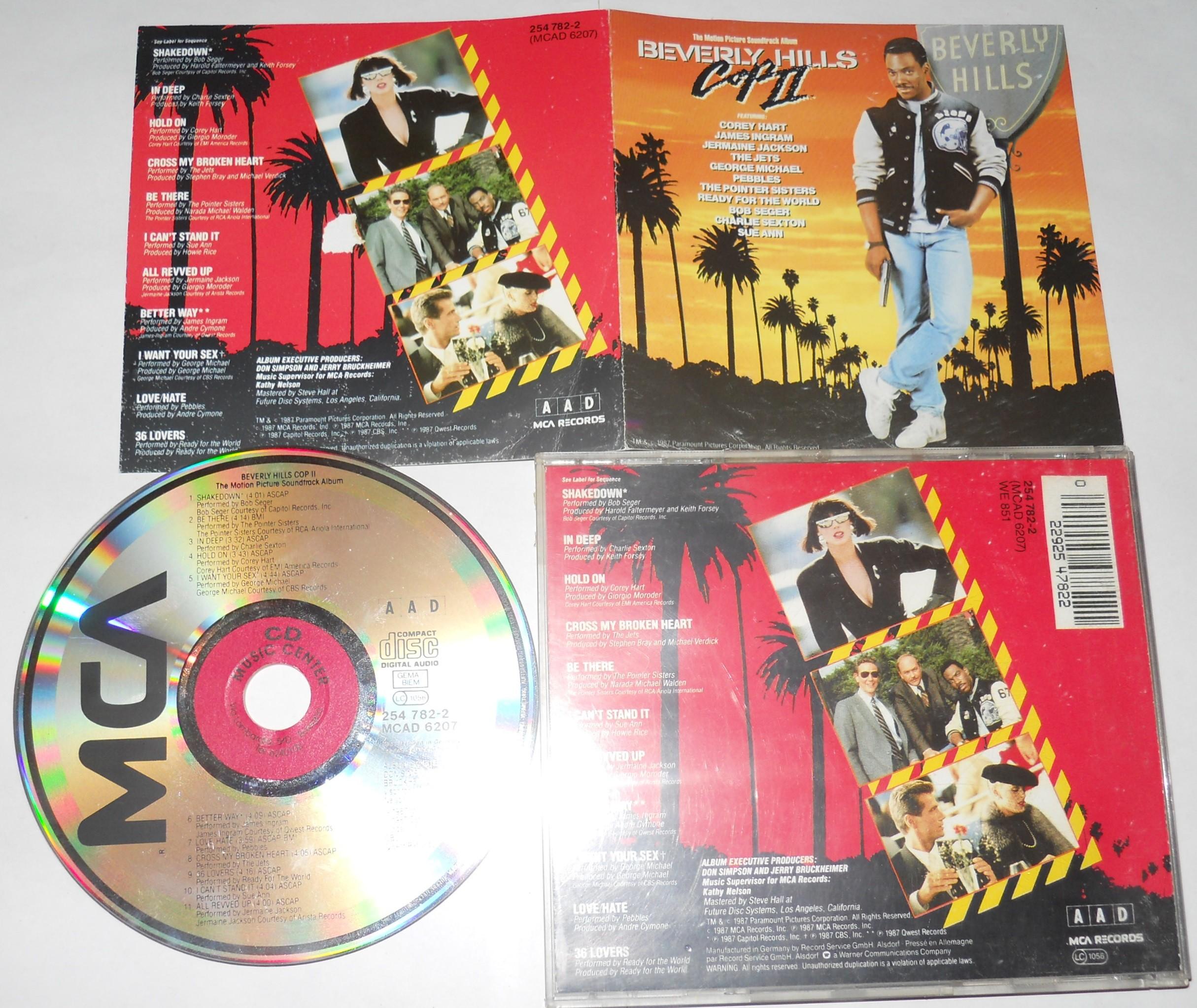 BEVERLY HILLS COP II - Soundtrack - CD