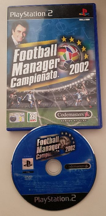 Football Manager Campionato 2002 PS2