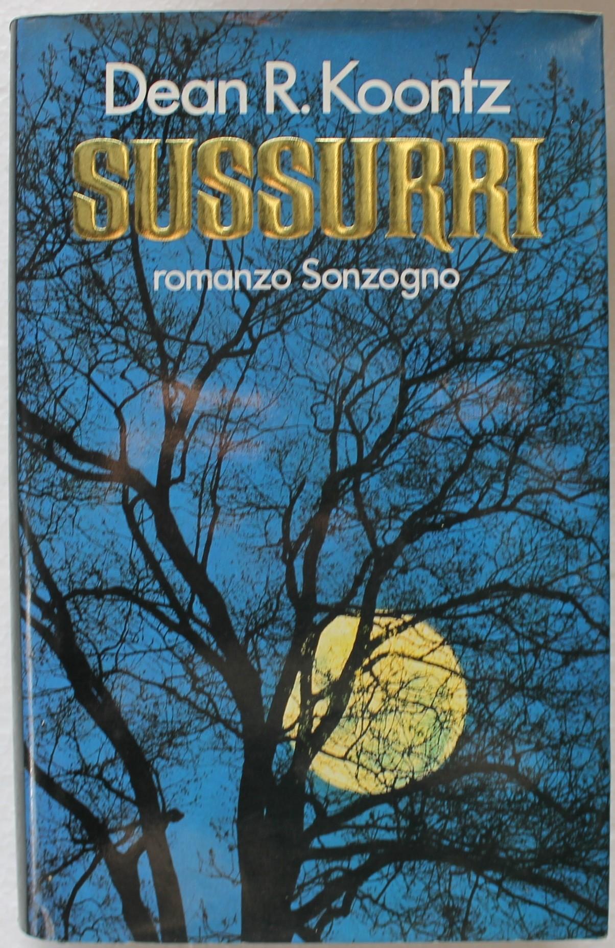 SUSSURRI - Prima Edizione