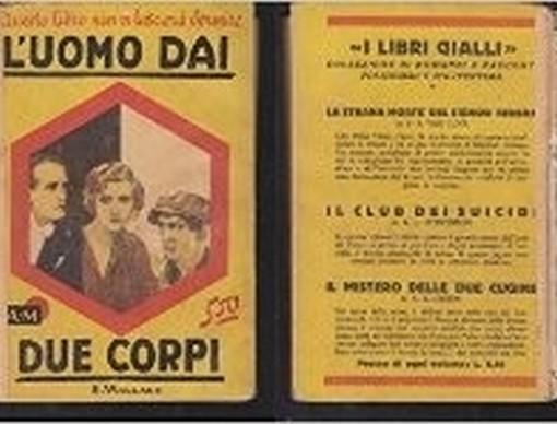 L'Uomo Dai Due Corpi  Edgar Wallace Mondadori
