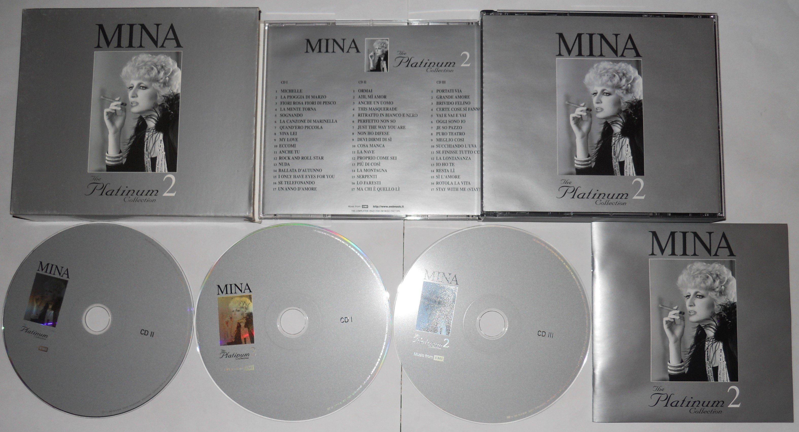 mina the platinum collection 2