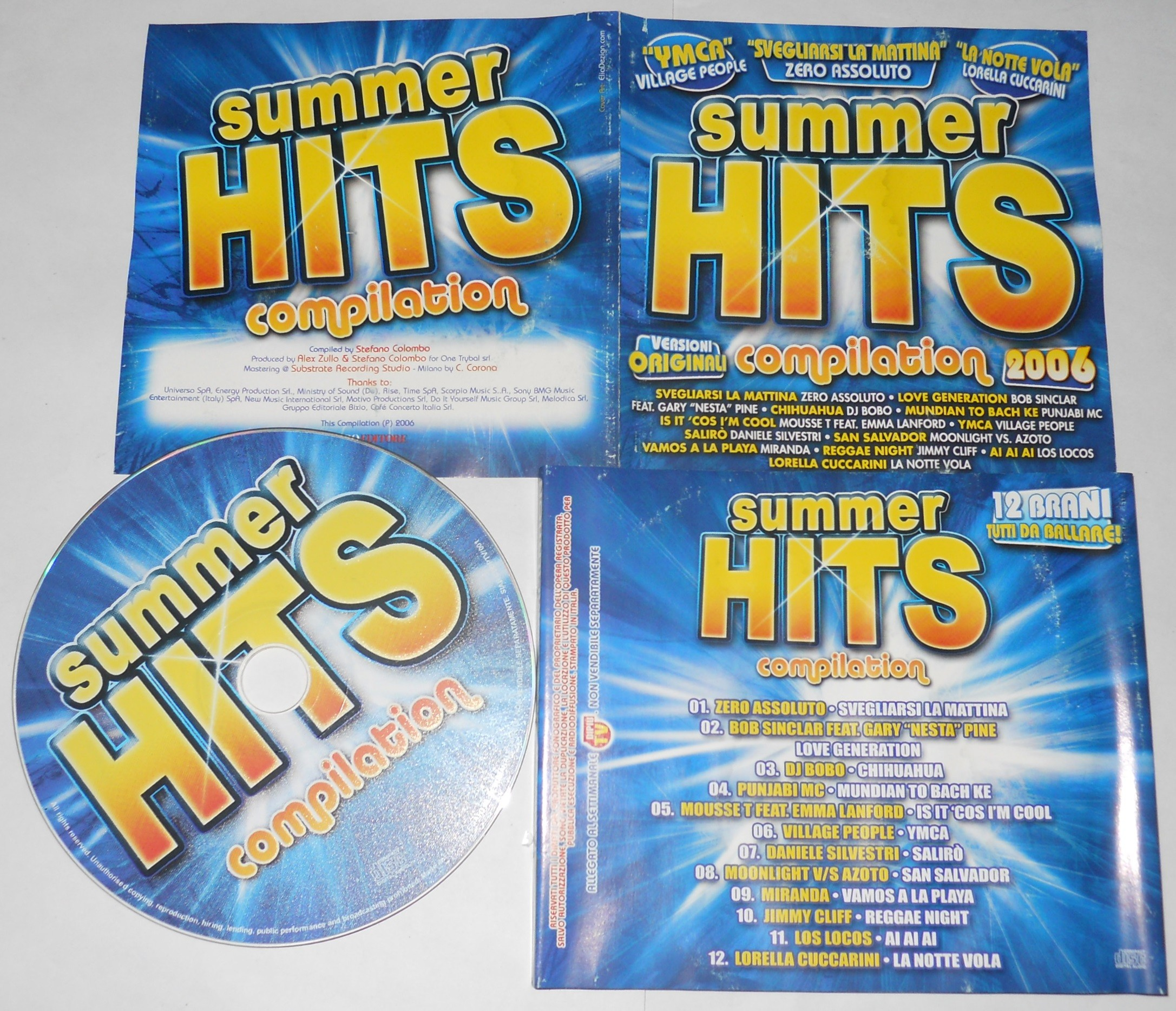 summer hits compilation 2006