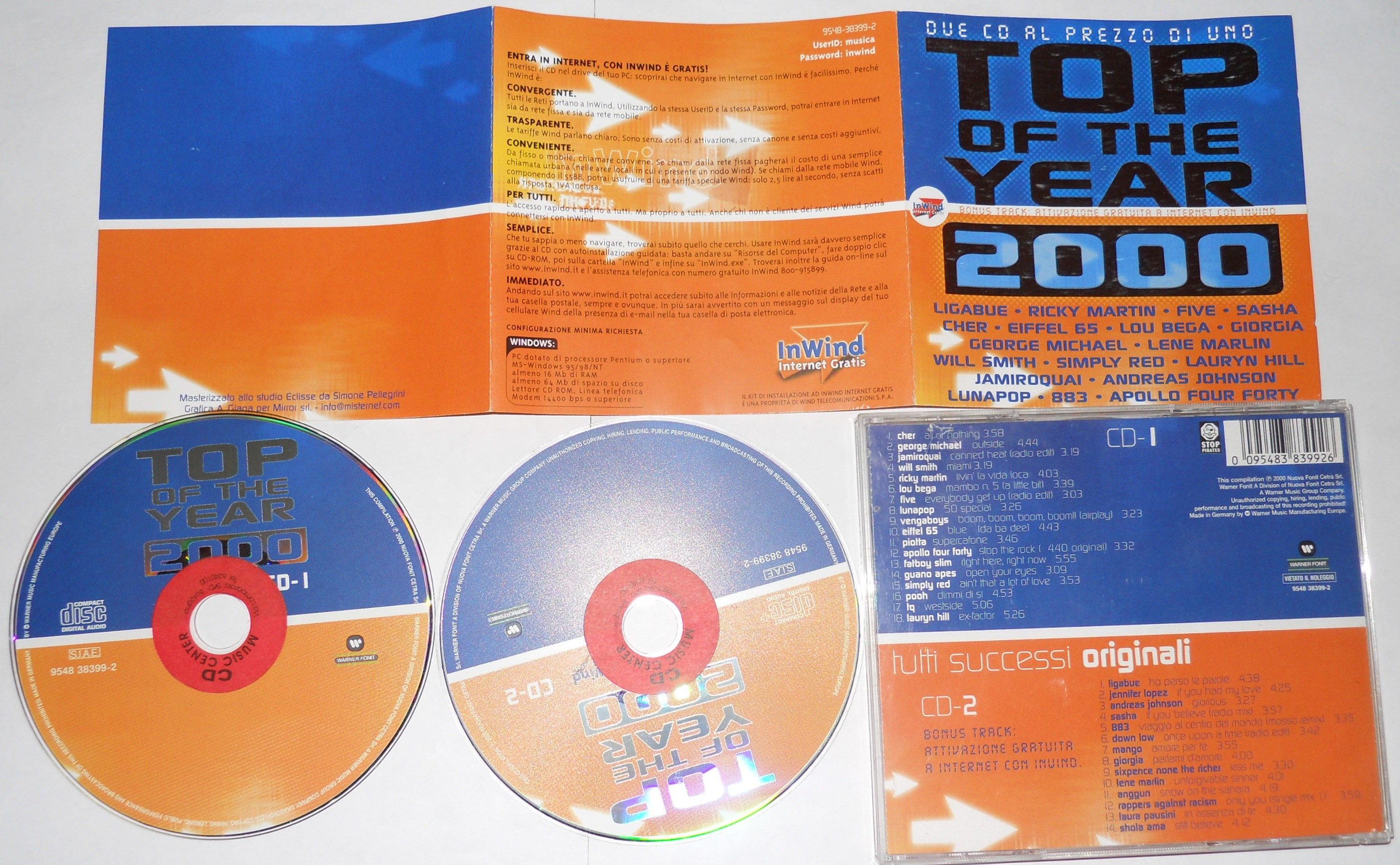 top of the year 2000