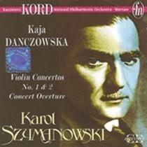 Concerti per violino n.1 e n.2, Concerto op.12 (Overture)  SZYMANOWSKI KAROL
