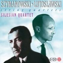 Quartetti per archi n.1 op.37,  n.2 op.56  SZYMANOWSKI KAROL