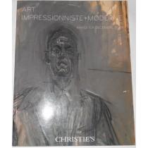 Art impressionniste moderne. Paris 1er decembre 2009