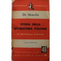 Storia della letteratura italiana. III. Dal Petrarca al Boiardo,Francesco De sanctis,Universale economica
