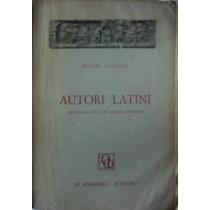 Autori Latini. Antologia Per il Ginnasio Superiore,Filippo Signore,Di Mambro