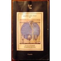 Quaderni della Fenice,Franco Cordelli,Guanda