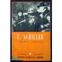 Scritti storici,Federico Schiller,Bompiani