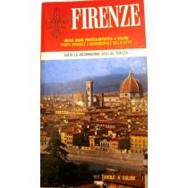 Firenze. Nuova guida pratica - artistica a colori. Pianta stradale e monumentale della città