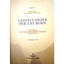 Progetto di trattato che istituisce una Costituzione per l'Europa