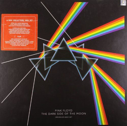CD THE DARK SIDE OF THE MOON (IMMERSION) - box 3cd+2dvd+bluray PINK FLOYD