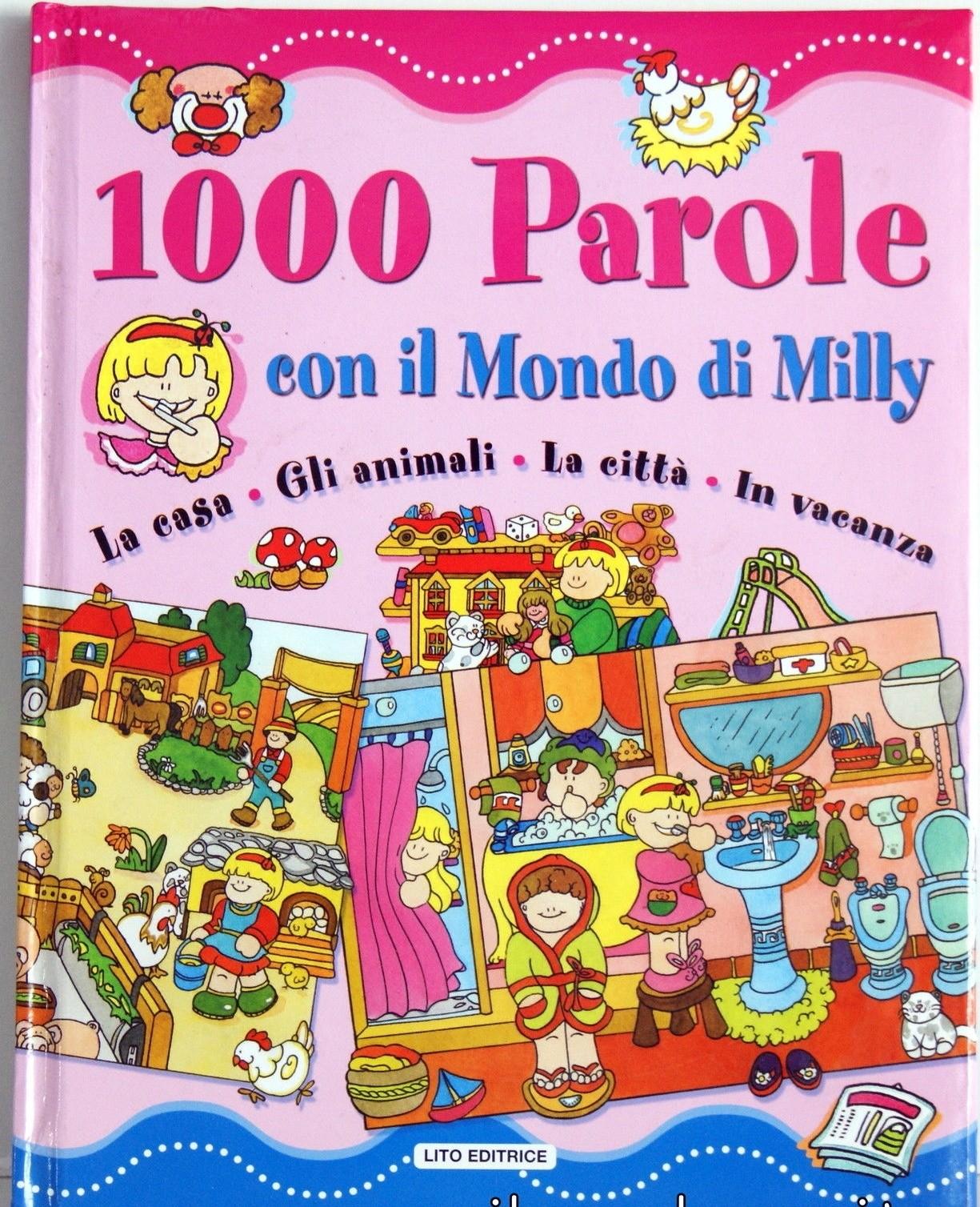"""LIBRO PER BAMBINI """" 1000 PAROLE CON IL MONDO DI MILLY"""""""
