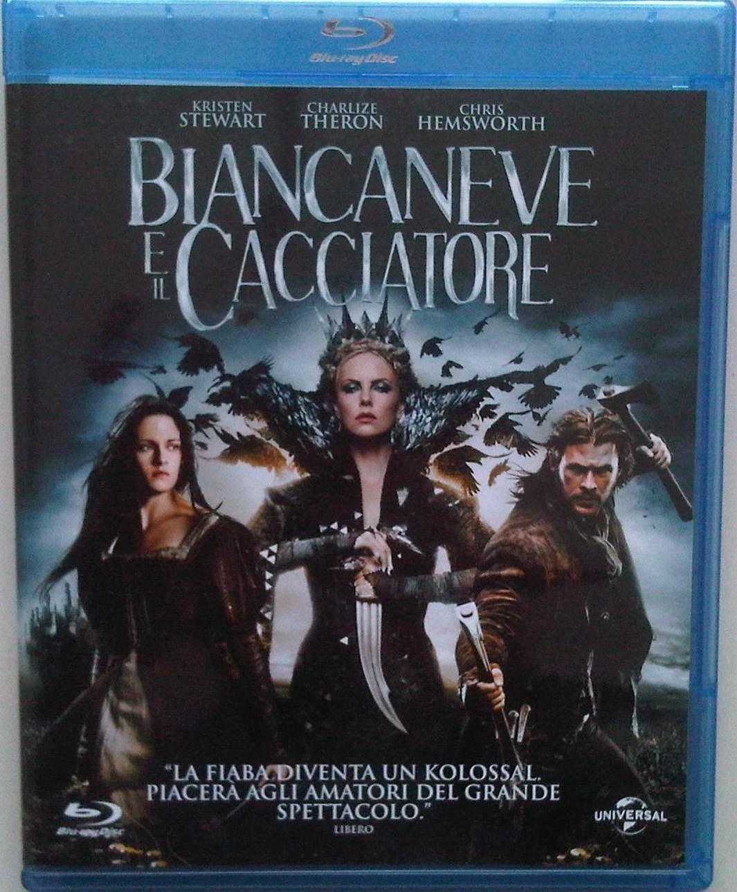 BIANCANEVE E IL CACCIATORE -  BLU-RAY - DVD  -