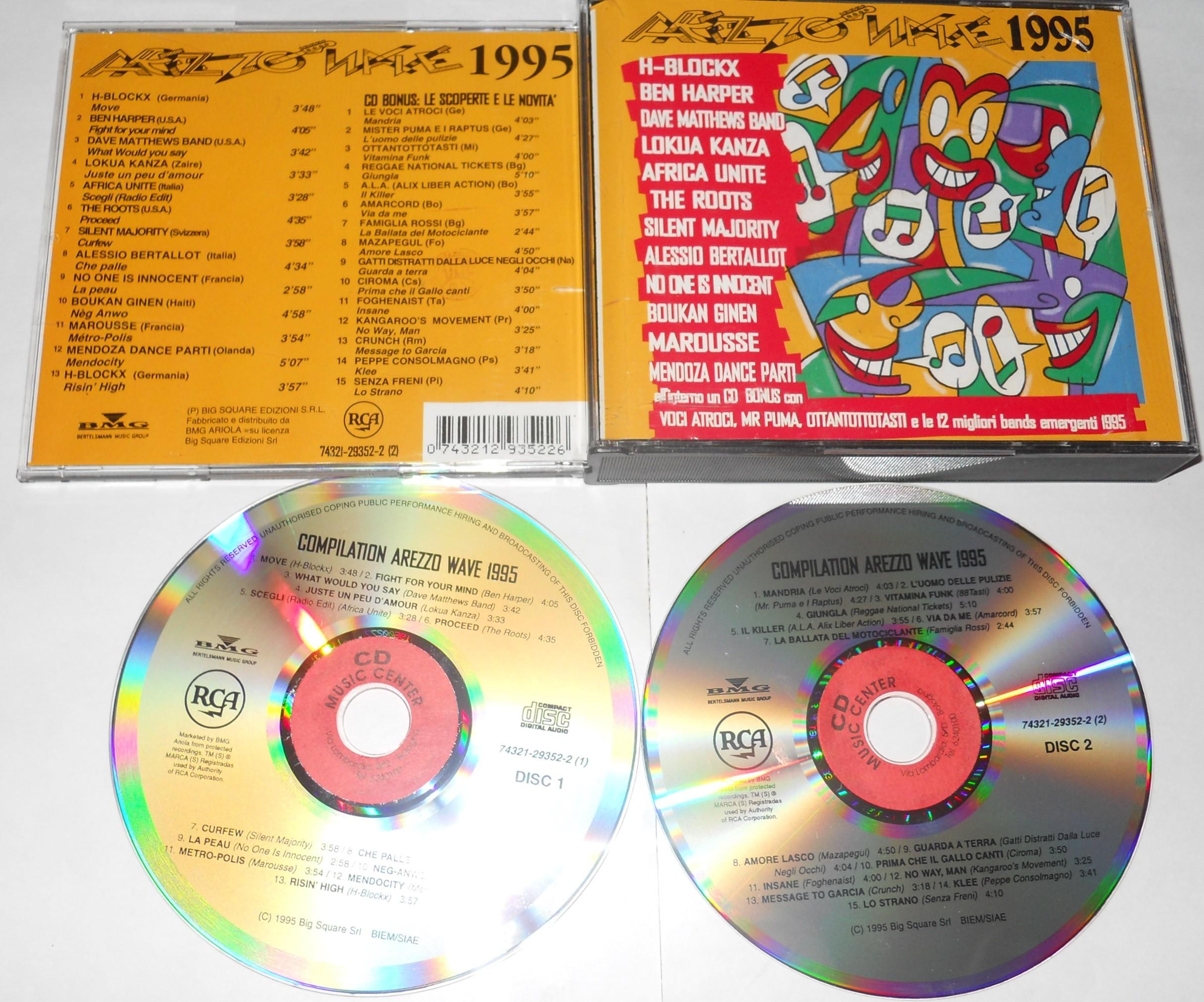 arezzo wave 1995