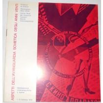 Aspetti dell'avanguardia sovietica degli anni venti 7-13 Febbraio 1975
