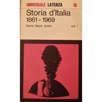 Storia d'Italia. 1861 - 1969 Vol I,Denis Mack Smith,Laterza
